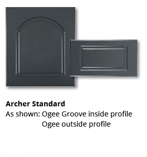 Outdoor Cabinets Archer Standard Door Style
